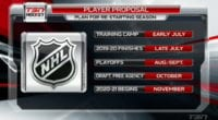 NHL players are also thinking about scheduling and are coming up with their own ideas for the rest of the season and playoffs.
