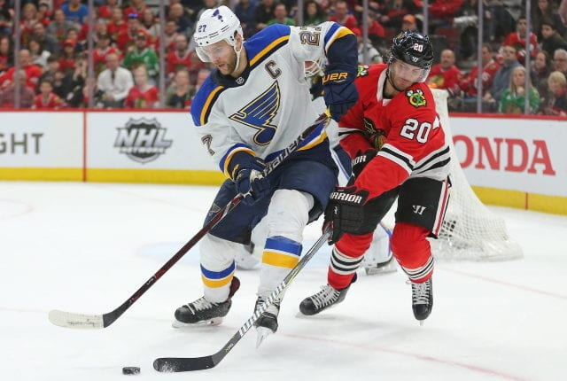 The Chicago Blackhawks could be looking to shed salary again this offseason. Fitting in an Alex Pietrangelo extension won't be easy for the St. Louis Blues.