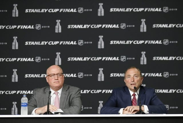 The NHL has been in near-constant contact with the NHLPA, teams, GMs and medical experts.