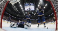 The rise in salary cap next year could help the St. Louis Blues re-sign some defensemen.