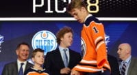 The Edmonton Oilers want 2019 first-round draft pick Philip Broberg to remain in Sweden next season.