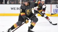 The Vegas Golden Knights have re-signed defenseman Zach Whitecloud