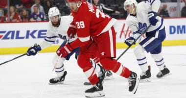 Anthony Mantha hopes to remain in Detroit long-term.