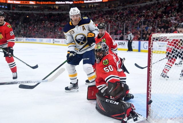 A quick look into what the offseason could bring for the Chicago Blackhawks goaltending situation and the Buffalo Sabres mess.