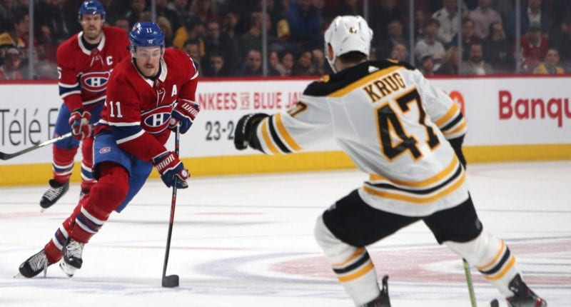 Could the Montreal Canadiens be interested in Torey Krug if he hits free agency.