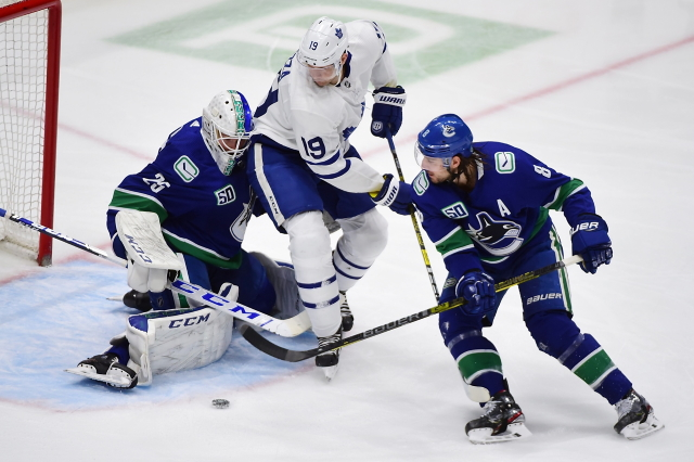 Vancouver Canucks GM still intends to re-sign Jacob Markstrom. Areas the Toronto Maple Leafs need to find a way to improve on, and pending Leafs free agents