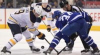 Are there issues with the Maple Leafs roster construction? The Buffalo Sabres need to add some scoring this offseason.
