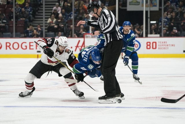 The Arizona Coyotes re-signed Michael Chaput