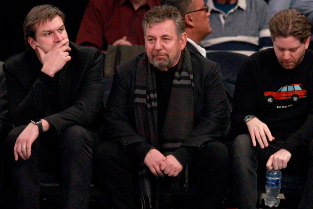 New York Rangers owner James Dolan tests positive for COVID-19