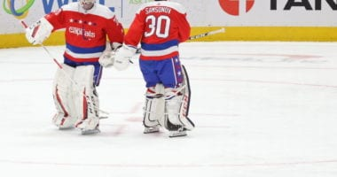 The Washington Capitals have a goaltending controversy