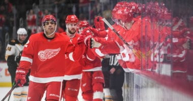 Several factors went into the Detroit Red Wings trading Andreas Athanasiou