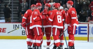 The Detroit Red Wings have 11 players under contract for next season. Tyler Bertuzzi and Anthony Mantha need new deals, but they have some money to spend if they want.