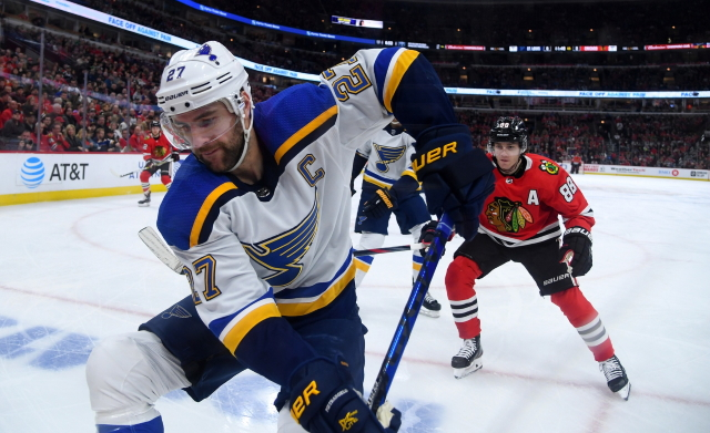 St. Louis Blues defenseman Alex Pietrangelo on his pending free agency.
