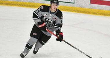 Brendan Brisson finished his USHL season with the Chicago Steel recording 24 goals and 35 assists in 45 games. He's been moving NHL draft rankings as the progressed.