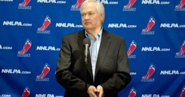 Donald Fehr said he hasn't spoken with the NHL about holding playoff games at neutral sites.