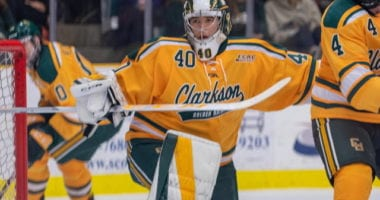College free agent goaltender Frank Marotte from Clarkson is drawing some interest.