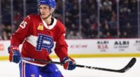 The Montreal Canadiens sign forward Laurent Dauphin.