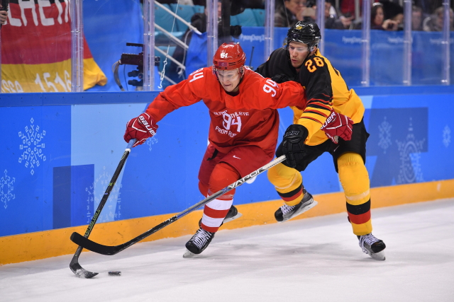 The Toronto Maple Leafs are interested in signing KHL free agent Alexander Barabanov. His agent said they are starting to talk with teams and there is no timeline.