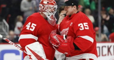 Looking at some potential NHL free agent goaltending options for the Detroit Red Wings.