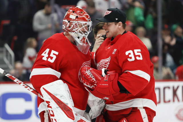 Nhl Rumors Training Camp Jacob Markstrom And The Detroit Red Wings Goaltending Situation Nhl Rumors