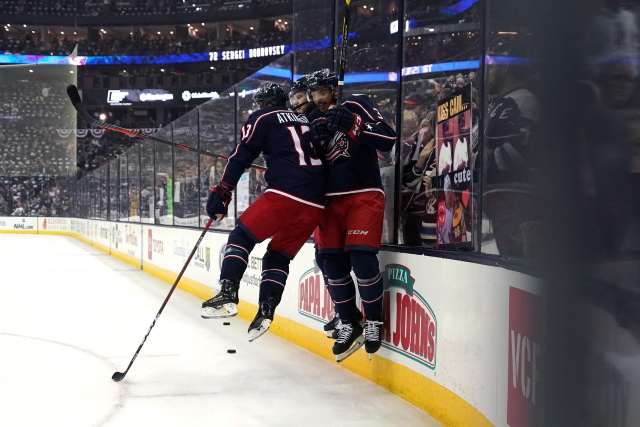 The Columbus Blue Jackets have some restricted free agents to deal with this offseason, with some possibly being trade candidates.