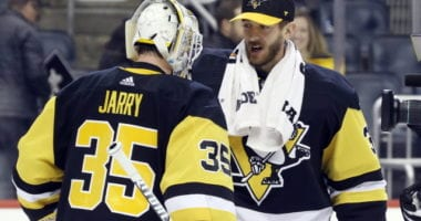The Pittsburgh Penguins will have some goaltending decisions to make this offseason.