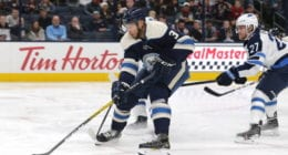 Columbus Blue Jackets Seth Jones takes to the ice eight weeks after ankle surgery