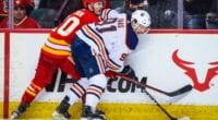 The Edmonton Oilers extend Gaetan Haas