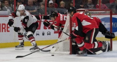 Ottawa Senators Craig Anderson hasn't thought much about his future. Arizona Coyotes GM John Chayka has spoken with Taylor Hall and his agent.