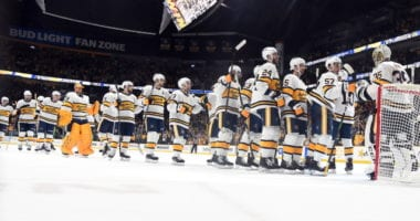 The Nashville Predators season definitely hadn't been going as planned. Visions of being at the top of the Western Conference instead battling for the final wildcard spot. Next season see them have a few less veterans on their roster.