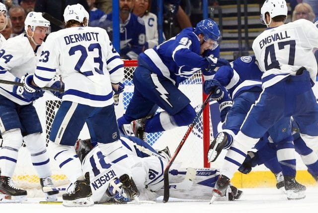 There is no guarantee that the Stanley Cup will be awarded this season, but there are odds and playoff matchups if the NHL follows their regular playoff format.