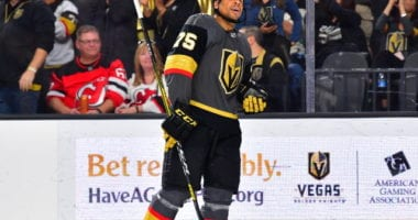 The Vegas Golden Knights closing in on a Ryan Reaves extension?