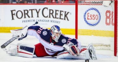 The Columbus Blue Jackets have pending free agent goaltenders in Joonas Korpisalo and Elvis Merzlikins.