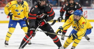 2020 NHL draft prospect Justin Barron