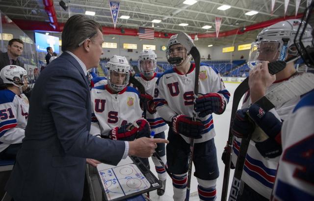 Seth Appert USA Hockey