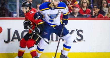 Could the Calgary Flames be interested in Alex Pietrangelo? Who will play on the right side for the Toronto Maple Leafs