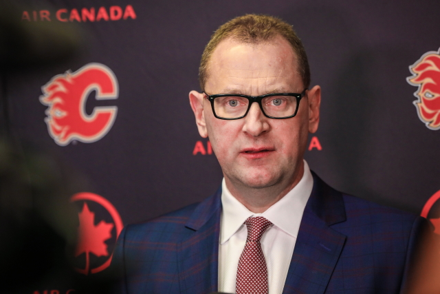 Calgary Flames GM thinks some good news for hockey fans in coming this week.