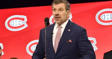 Montreal Canadiens GM Marc Bergevin on the playoffs and the draft lottery.