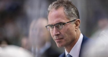 The New Jersey Devils interview Dallas Stars assistant coach John Stevens