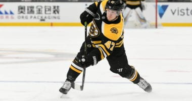 A flat or lower salary cap could mean the end of Torey Krug in Boston.