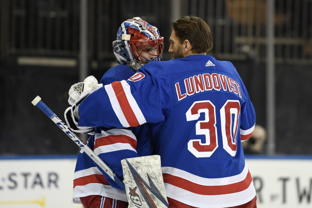 New York Rangers coaches will decide who will be their playoff starter