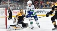 Boston Bruins goaltender Tuukka Rask not thinking about his next contract yet