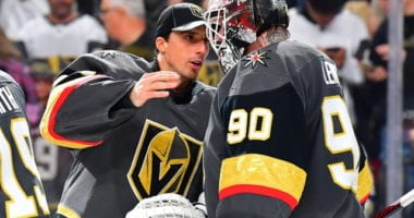 It's possible that the Vegas Golden Knights could re-sign Robin Lehner, but it won't be easy.