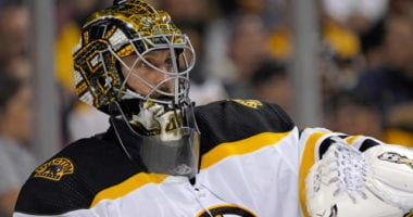 The Boston Bruins have signed Jaroslav Halak to a one-year extension.