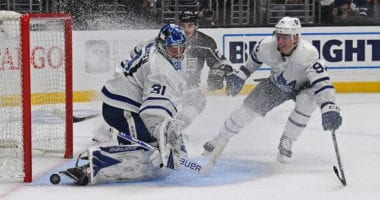Toronto Maple Leafs Frederik Andersen, Tyson Barrie, and Ilya Mikheyev could boost there value with a good playoff.
