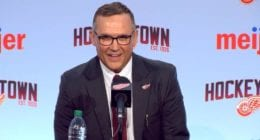 Detroit Red Wings GM Steve Yzerman and some free agents.