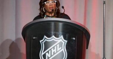 Kim Davis - NHL executive vice-president of social impact, growth initiatives and legislative affairs