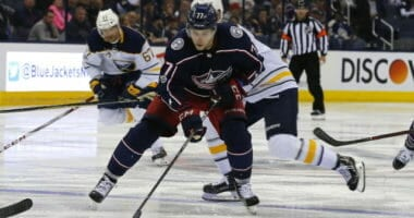 Columbus Blue Jackets forward Josh Anderson likely done for the playoffs