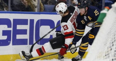Unlikely the Buffalo Sabres would trade Jack Eichel. The New Jersey Devils could look to take advantage of their extra salary space for next season.