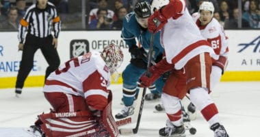 San Jose Sharks who could be back and who are likely gone. Jimmy Howard hopes he's able to be able to continue and finish his career with the Detroit Red Wings.